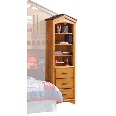 Harriet Bee Cottage Wooden Corner Unit Bookcase