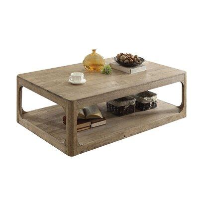 Loon Peak Lower Shelf Wood Coffee Table