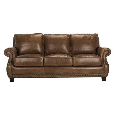Charlton Home Arecibo Leather Sofa