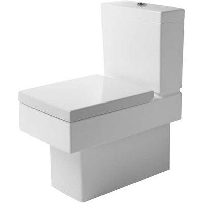 Duravit Dual Flush Two Toilet Glazed Surface