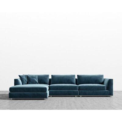 Brayden Studio Modular Sectional Ottoman Upholstery Solstice