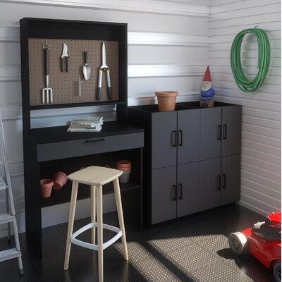 Rebrilliant Workbench Stackable Cabinets Set