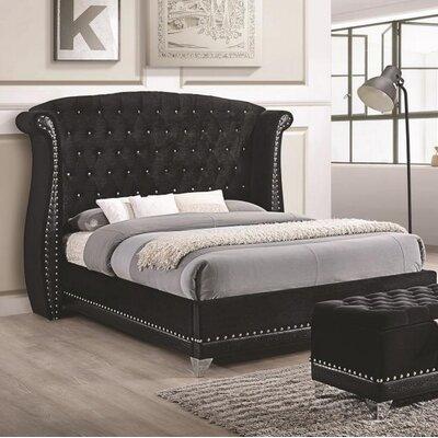 Everly Quinn Upholstered Platform Bed