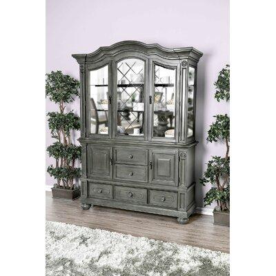 Astoria Grand China Cabinet Gray