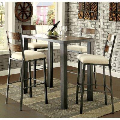 Gracie Oaks Pub Table Set
