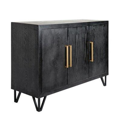 Ivy Bronx Wood Metal Rectangular Door Accent Cabinet