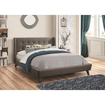 George Oliver Upholstered Platform Bed Twin