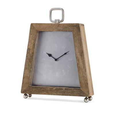 17 Stories Tabletop Clock Wood Mantel Clocks