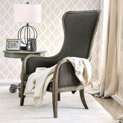 One Allium Way Jaida Wingback Chair