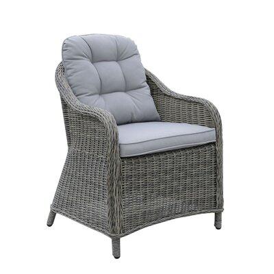 One Allium Way Wicker Frame Patio Chair Cushion