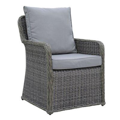 One Allium Way Wicker Frame Patio Dining Chair Cushion