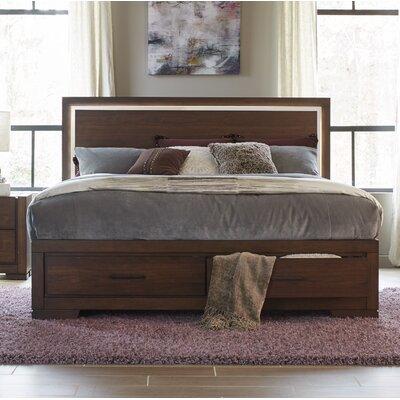 Wrought Studio Queen Storage Platform Bed