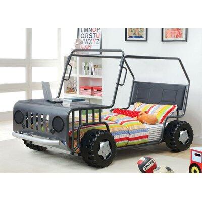 Zoomie Kids Twin Car Bed