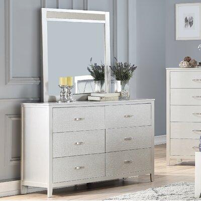 House Of Hampton Drawer Double Dresser Mirror House