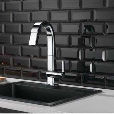 Delta Pivotal Single Handle Pull Barprep Faucet Toucho