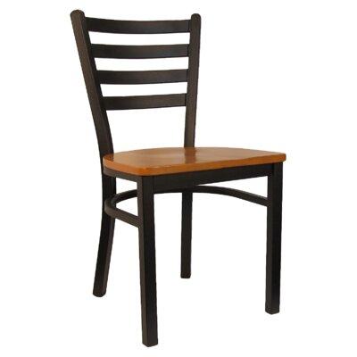 H D Restaurant Supply Solid Wood Dining Chair Set Restaurant Supply Inc Wild Cherry