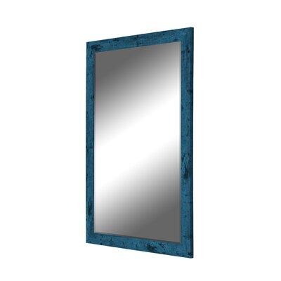 Blue Barnwood Wall Mirror Vintage 100 Product Image