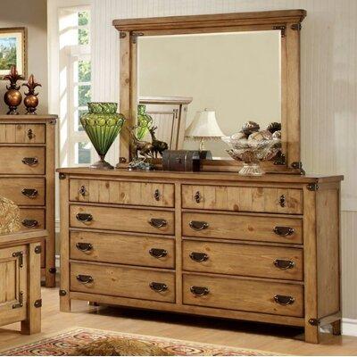 Loon Peak Drawer Double Dresser Mirror