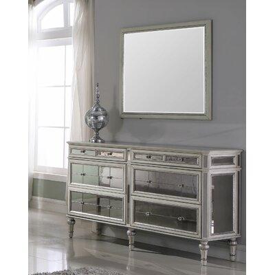 Rosdorf Park Drawer Double Dresser Mirror