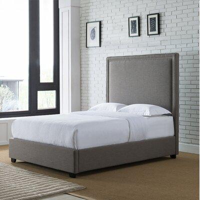 Gracie Oaks Kip Upholstered Panel Bed