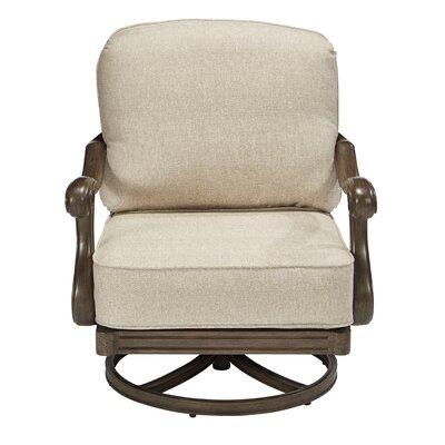 Canora Grey Rocking Chair Cushions Frame Brown