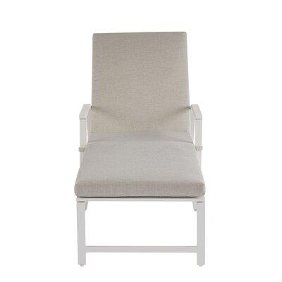 Highland Dunes Reclining Chaise Lounge Cushion