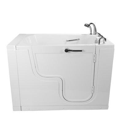 Acrylic Bathtub Dual Massage Digital Control