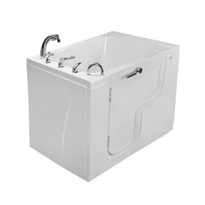 Acrylic Microbubble Heated Seat Whirlpool Bathtub