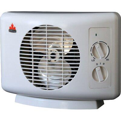 Seabreeze Electric Sf11t Thermaflo 5 120 Btu Portable Fan Compact Heater