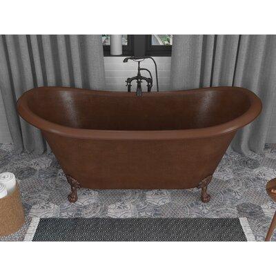 Anzzi Clawfoot Soaking Bathtub