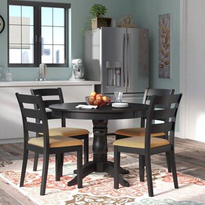 Andover Modern Ladder Back Dining Set Image
