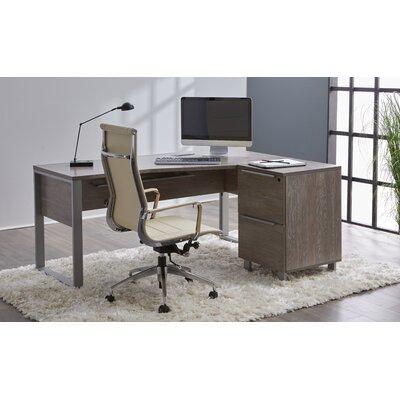 Ebern Designs Office Set Gray