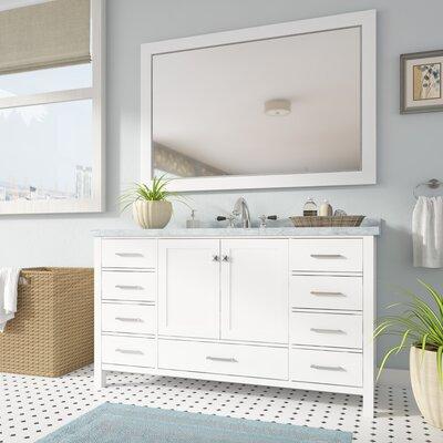Andover Mills Single Rectangle Bathroom Vanity Mirror