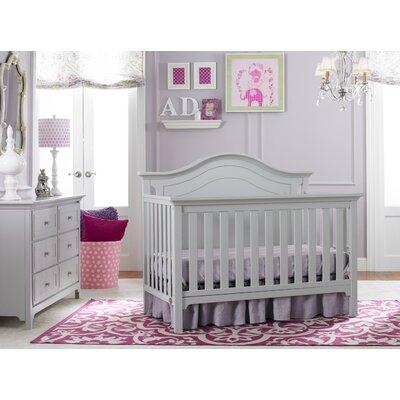 Ti Amo Convertible Crib Set Misty Gray