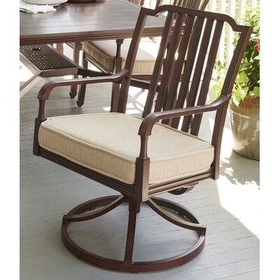 Paula Deen Swivel Patio Dining Chair Cushion House Dining Chairs