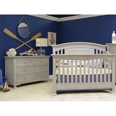 Centennial Convertible Crib Set Vintage Grey