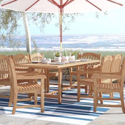 Beachcrest Home Teak Dining Set
