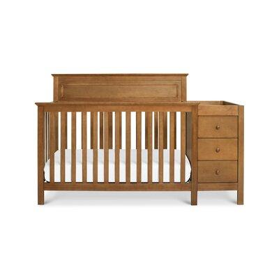 Davinci Convertible Crib Changer Combo Chestnut