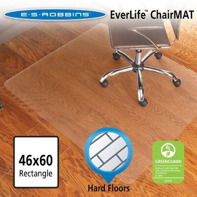Es Robbins Everlife Hard Floor Straight Edge Chair Mat Product Photo