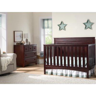Delta Children Convertible Crib Set Dark Chocolate