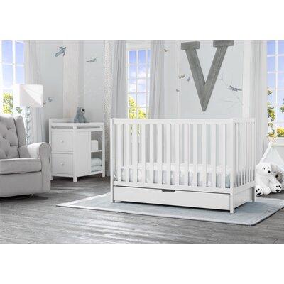 Delta Children Convertible Crib Changer  White
