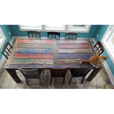 Chic Teak Wood Dining Table
