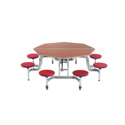 AmTab Round Stool Table Octagon Octagonal Diameter Stools