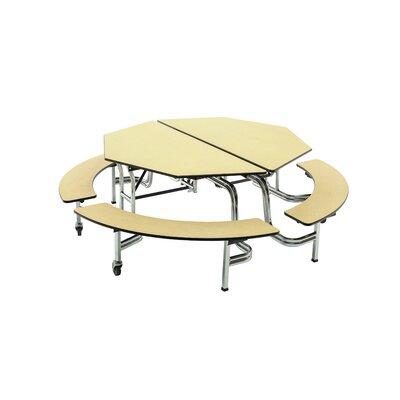 AmTab Bench Table Octagon Octagonal Diameter Benches Amtab