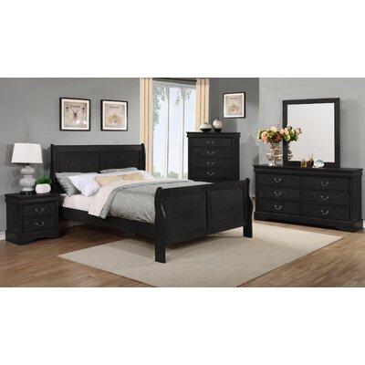 Alcott Hill Queen Sleigh Bedroom Set