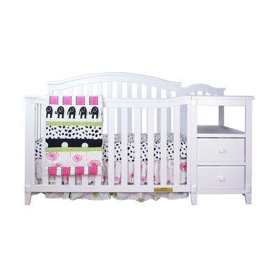 Harriet Bee Van Convertible Crib Changer White