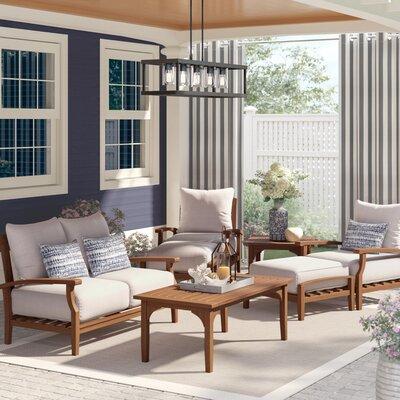 Birch Lane Heritage Teak Sofa Seating Group Cushions