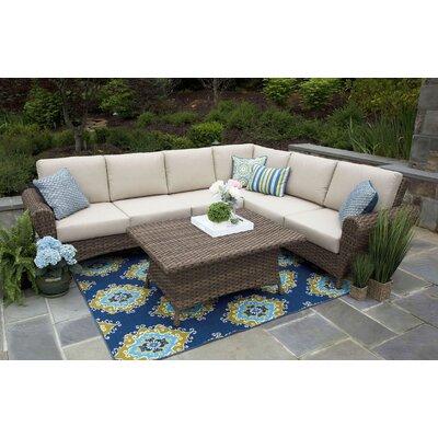 One Allium Way Wanamaker Sectional Set Cushions