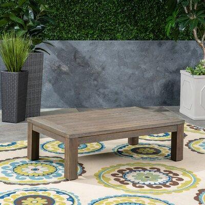 Loon Peak Solid Wood Coffee Table Top Gray
