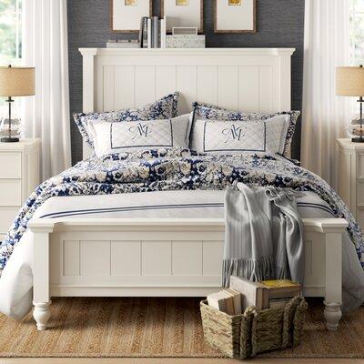 Birch Lane Heritage Panel Bed Twin Seashell White